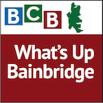 What's Up Brainbridge logo